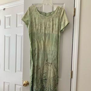 Dresses & Skirts - Tess Brand Linen dress